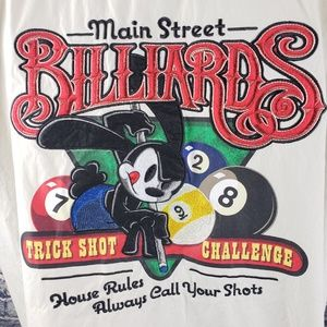 Disney Oswald Main Street Billiards Shirt XXL